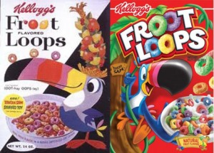 Froot loops vs the real anorexic toucan
