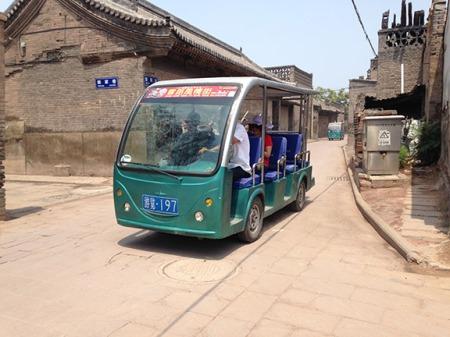 tour bus Pingyao
