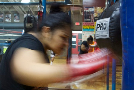 16 and Boxing for Life; Pasadena