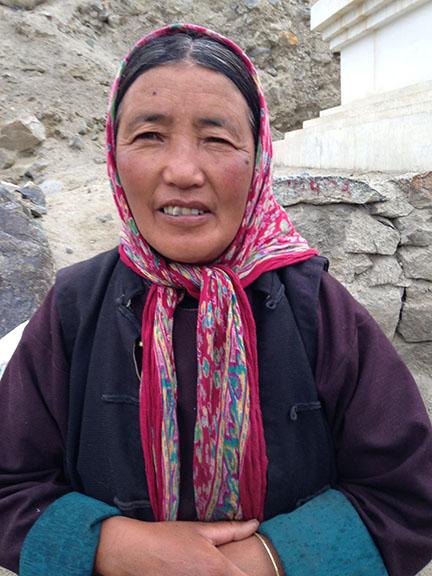 tibetan mum, Leh