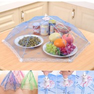 Random-Color-Umbrella-Style-Hexagon-Anti-Fly-Mosquito-Kitchen-Tool-Gauze-Tulle-font-b-Mesh-b