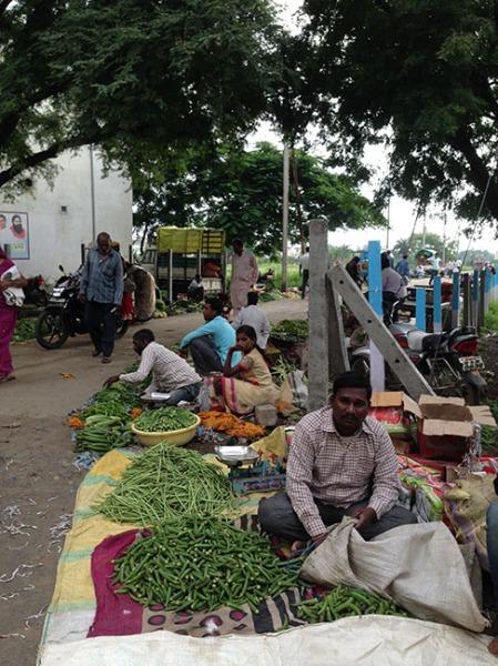 vegetable selling
